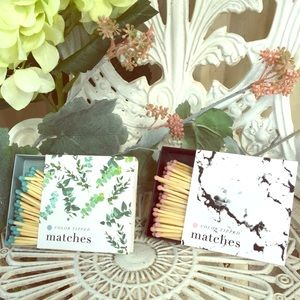Colored Matches! Pink or Blue!